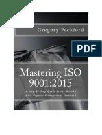 Mastering Iso 9001 2015 e Book PDF