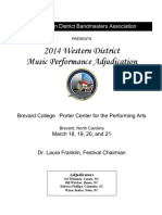 MPA Program 2014 - Western District