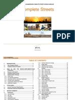 Complete Streets Design Guideline Manual