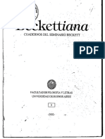 Beckettiana revista