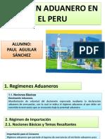 Regimen Aduanero-paul Aguilar