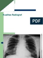 Kualitas Radiograf