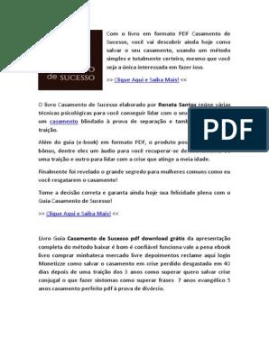 LIVRO CASAMENTO GRATIS PDF BAIXAR BLINDADO