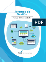 Manual Del Emprendedor - Sistema de Gestion
