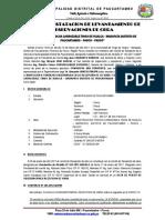 Acta de Observacaciones Tingo de Hualca
