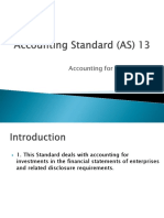 Accounting Standard (as) 13