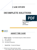 38623881 Incomplete Solutions Presentation
