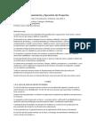 9 Clase 9 2014 2, Proyectos