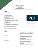 allegra cisneros resume 2