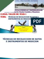 3.- TÉCNICAS DE RECOLECCION DE DATOS.ppt