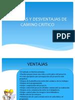 VENTAJAS Y DESVENTAJAS DE CAMINO CRITICO.pptx