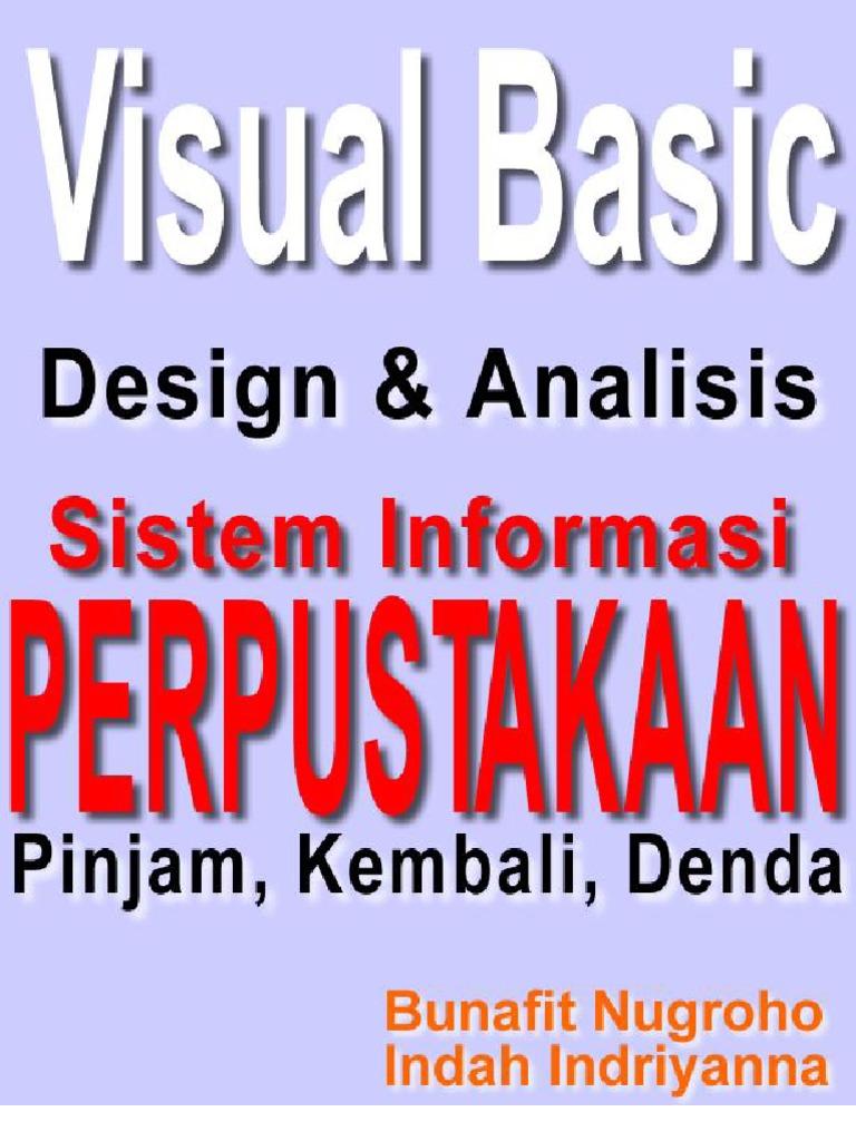 Skripsi visual basic 60 desain dan analisis sistem informasi skripsi visual basic 60 desain dan analisis sistem informasi perpustakaan ccuart Images
