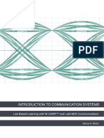 Intro to Comms With Ni Usrp