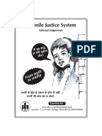 Juvenile Justice System -Selected Judgements |3rd edition