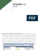 Microsoft Visual Studio 2010 Professional Data Sheet