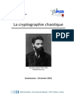 La Cryptographie Chaotique