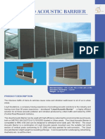 Lloyd Acoustic Barrier