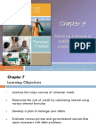 Chapter 07 (Topic 3 Consumer Credit)