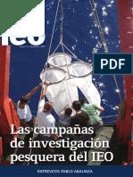 Art Cient Las Campañas de Investigacion Del IEO