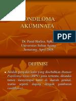 3. IMS - Kondiloma (Dr. Pasid)