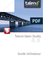 TalendOpenStudio Studio UG 40b FR