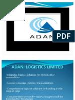 Adani Logistics Limimted Ppt