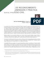 315-La Prueba de Reconocimiento Judicial. PDF Art Culo Revista