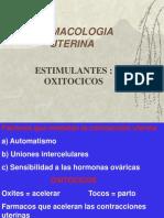 6. Farmacologia Uterina 2
