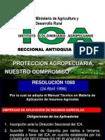 Resolucion ICA 1068