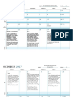 unit plan- calendar