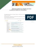 Guías NICE en ClinicalKey MAYO17