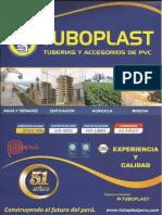 Catalogo de Tuboplast