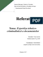 248972189 Expertiza Tehnico Criminalistica a Documentelor