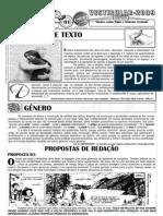 Português - Pré-Vestibular Impacto - Noções sobre Tipos e Gêneros Textuais