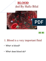 Blood and Plasma Proteins - Physiology by HAFIZ BILAL