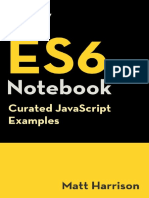 Tiny ES6 Notebook Curated JavaScript Examples