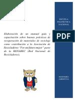 Borrador Manual Proyecto PVS - 2016 - 005 REV 17 de Febrero