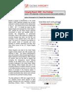 Key Findings 2009