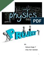 Physics Project on Liquid Lens