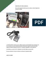 Interface Elm327 Para Conectar La Pc Con El Vehiculo