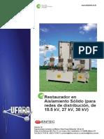 Restaurador Trifasico 15,27 y 38 KV Entec-Ufara
