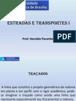 3 - Traçado Rodoviário - Estradas e Transportes 1