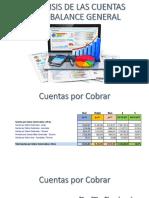 Análisis de Las Cuentas Del Balance General