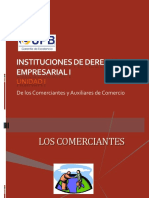 Unidad I - Comerciante y Auxiliares de Comercio