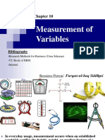 10. Measurement of Variables Complt