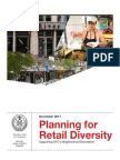 NYC Council's Plan for Retail Diversity