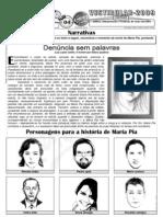 Português - Pré-Vestibular Impacto - Leitura, Interpretação e Produção de Texto Narrativo