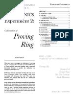 Proving ring