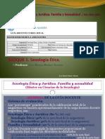 2015-2016 Sexología Ética Guión de Clases y Actividades