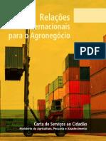 Carta de Serviços Ao Cidadão - Relações Internacionais Para o Agronegócio